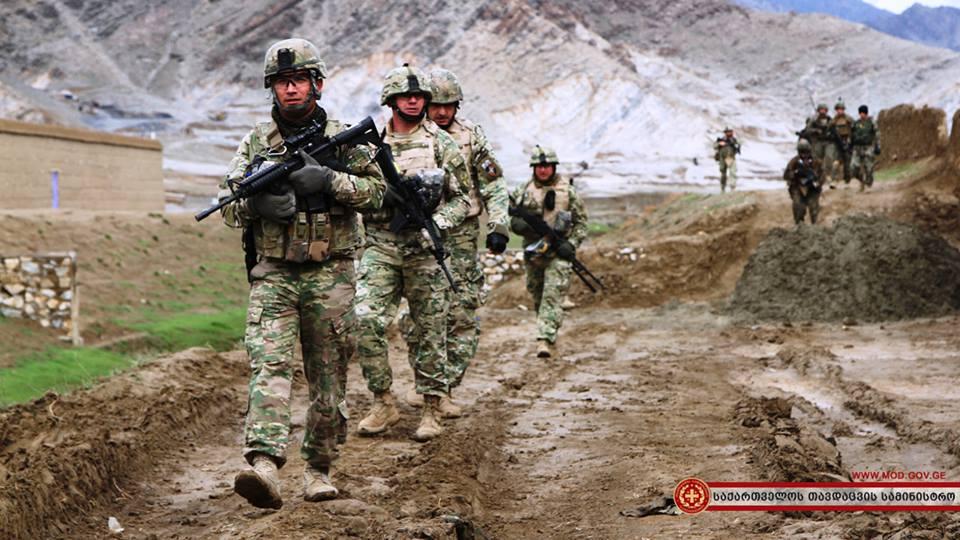 ქართველმა სამხედროებმა  ავღანეთში სოფელ  საინფორმაციო ოპერაცია ჩაატარეს