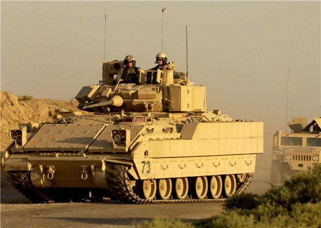 ამერიკამ უკრაინაში 50 ერთეული M2 ბრედლის ტიპის ქვეითთა საბრძოლო მანქანა გაგზავნა