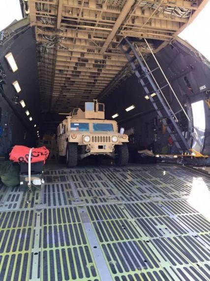 აშშ-დან უკრაინაში ჩავიდა შეჯავშნული მანქანების Humvee-ს პირველი პარტია