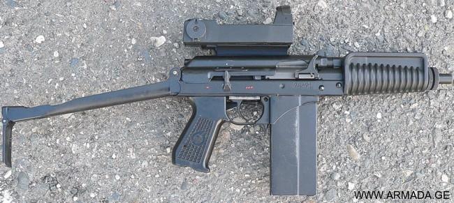კომპაქტური საიერიშო შაშხანა 9A-91