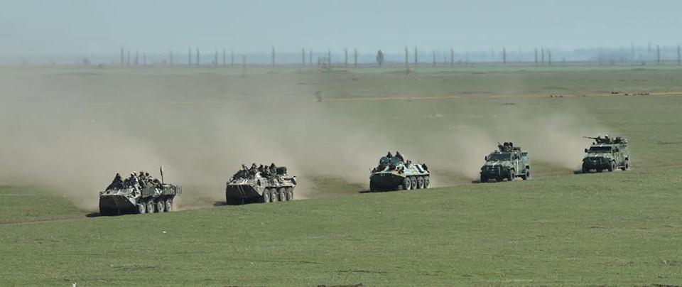 უკრაინის არმია ტაქტიკურ წვერთნებს ატარებს ფოტო (ვიდეო)