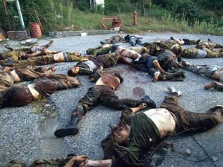 1993 წლის 2 ივლის დაბა ტამისში გადასხმულმა რუსულმა საზღვაო დესანტმა დუშეთის ბატალიონი  გაანადგურა
