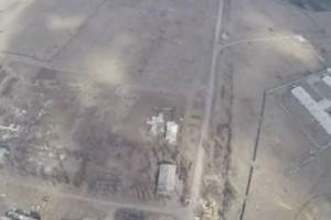 უკრაინელები აგესებით ბომბავენ ტერორისტებს ( ვიდეო)