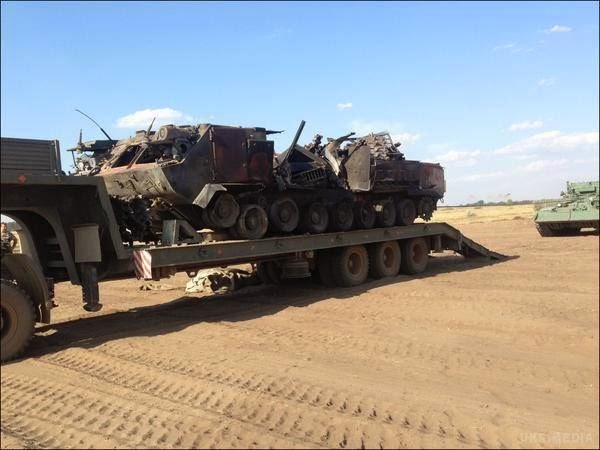 უკრაინელმა სამხედროებმა დონბასში რუსების ტორ-მ1 საზენიტო კომპლექსი ააფეთქეს
