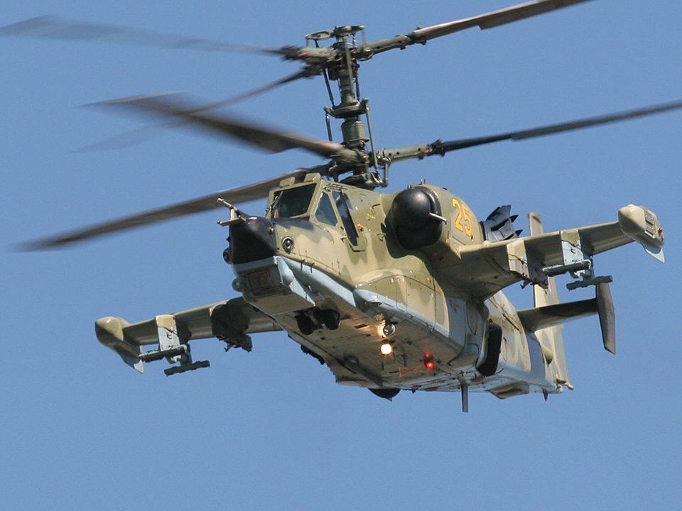 რუსული  საბრძოლო შეულფრენი KA-50  შავი აკულა