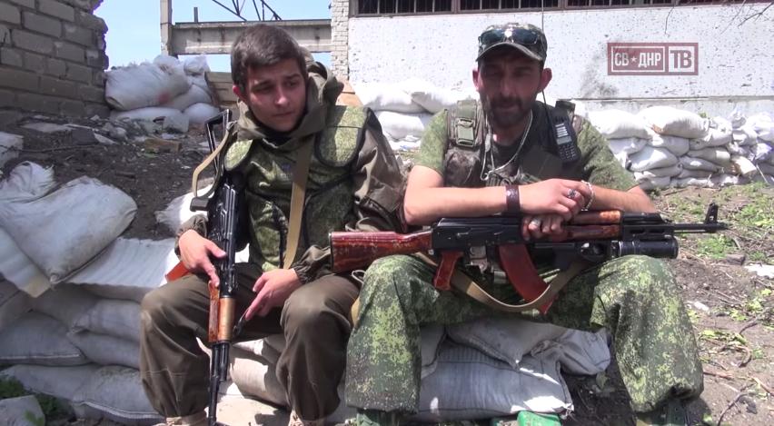 ქართველი მამა-შვილი უკრაინის წინააღმდეგ ომში (ვიდეო)