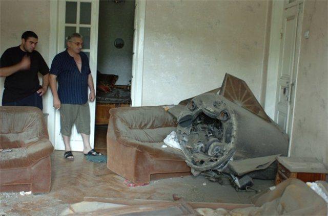 2008 წლის 12 აგვისტო რუსებმა ქალაქ გორი ისკანდერის ტიპის ბალისტიკური რაკეტით დაბომბეს (ვიდეო)