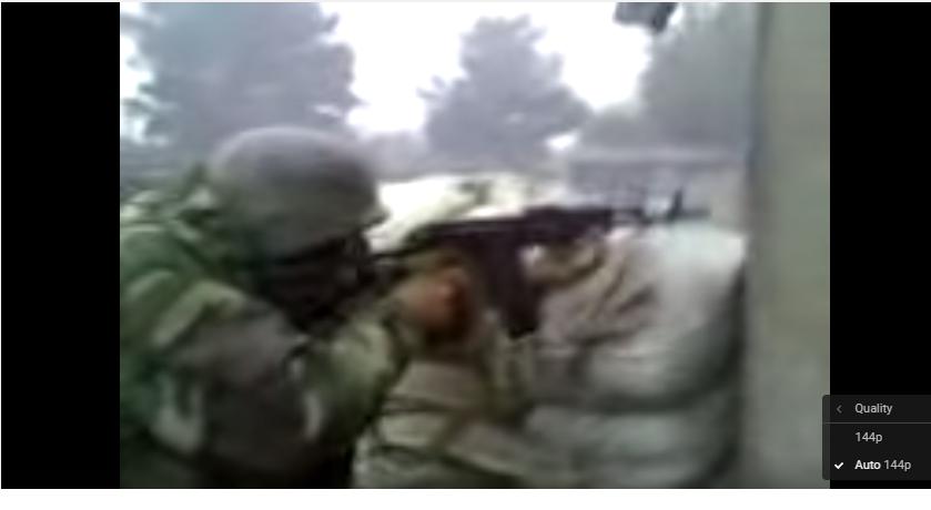 2008 წლის 7 აგვისტო ცხინვალის სამხრეთით გამაგრებულ  ოსსს  სეპარატისტებს   ზემო ნიქოზში განლაგებული ქართული სამშვიდობო ბატალიონის დანაყოფები  საპასუხო ცეცხლს უხსნიან(ვიდეო გადაღებულია ზემო ნიქოზში)