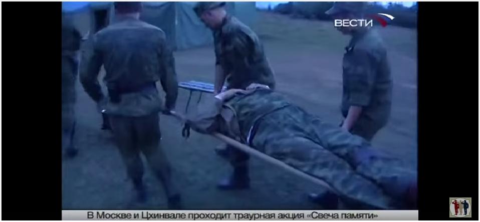 ქართველების მიერ დაჭრილი გენერალი ხრულოვი (ვიდეო)