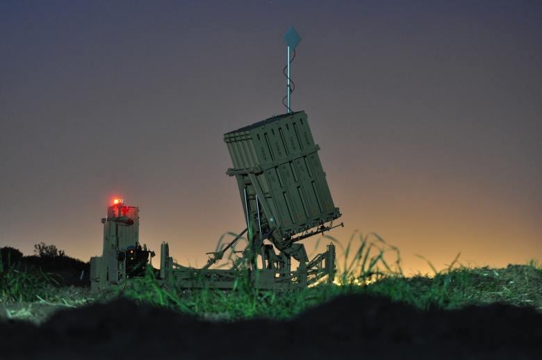 ისრაელის არმიის ანტისარაკეტო რკინის გუმბათი