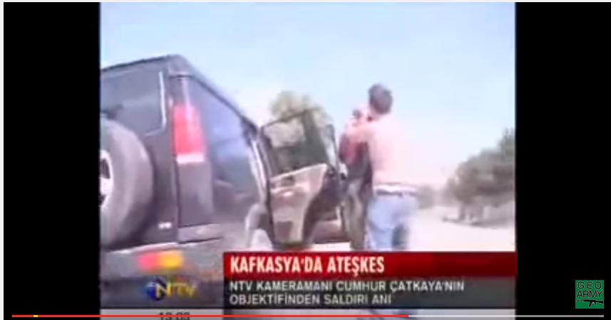 თურქი ჟურნალისტების დახვრეტა რუსი და ოსი ტერორისტების მიერ. რუსეთ-საქართველოს ომი 2008 წელი 11-12 აგვისტო