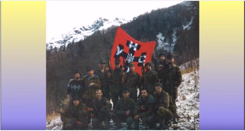 აფხაზეთის 1992-1993 წ. ომში უნა უნსოს შრომის სახელობის უკრაინული ბატალიონის მებრძოლების  დოკუმენტური ფოტოები)