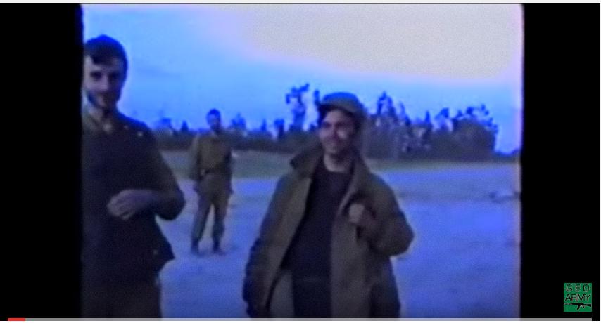 აფხაზეთის ომის უნიკალური ვიდეომასალა. ქართველი ბიჭები ტამიშში, 1992-93