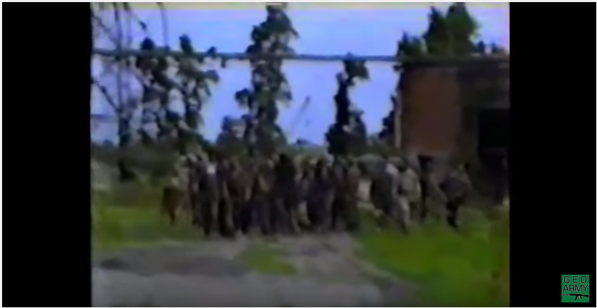 ტამიშის დესანტს სასწაულად გადარჩენილი ავაზელი. ივლისი 1993  უნუკალური (ვიდეო)