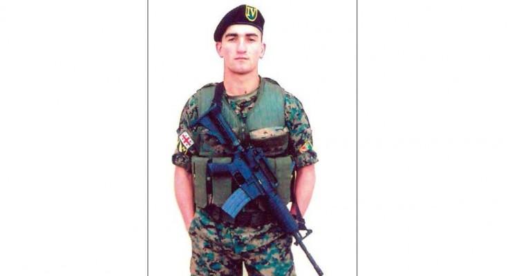 რუსეთ საქართველოს 2008 წლის აგვისტოს ომის გმირები.მეოთხე ქვეითი ბრიგადის 41 ე ქვეითი ბატალიონის მესამე ასეულის პირველი ოცეულის კაპრალი გმირი ლევან იოსებიძე.