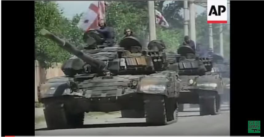 ქართველი სამხედროები და ტექნიკა ცხინვალის რეგიონში, 2004 წლის აგვისტო