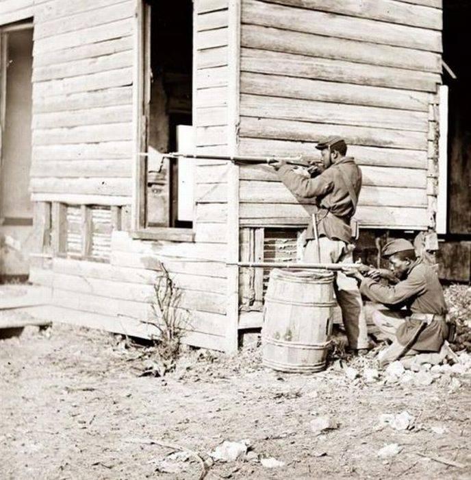 აშშ 1861-1865 წლის სამოქალაქო ომი (დოკუმენტური ფოტოები)