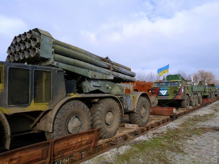 უკრაინამ რუსეთის საზღვარზე ურაგანის ტიპის ზალპური ცეცხლის დანადგარები განალაგა (ფოტო რეპორტაჟი)