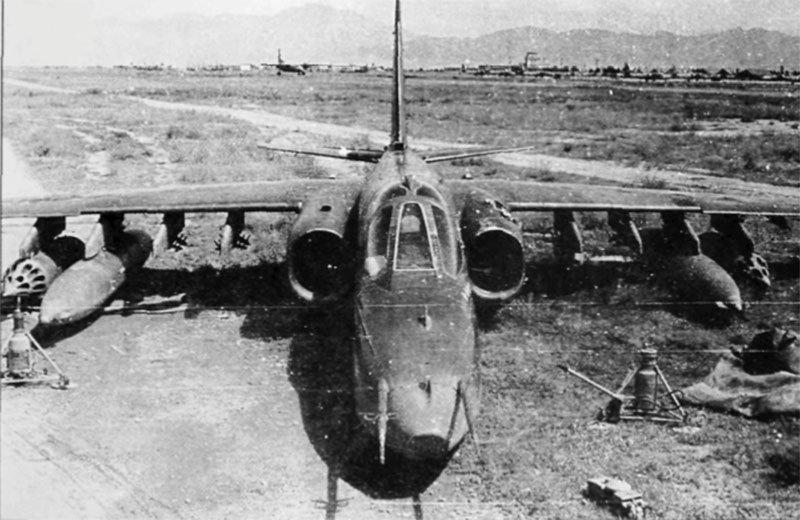 ავღანეთში ჩამოგდებული საბჭოთა cy-25 ტიპის მოიერიშე თვითფრინავები