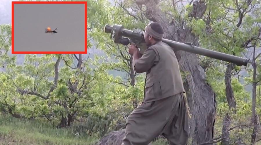 ქურთმა მებრძოლებმა რუსული იგლათი თურქეთის კობრა ჩამოაგდეს.(ვიდეო)