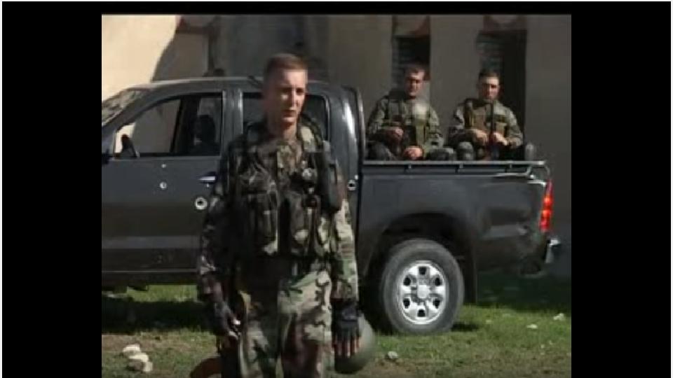 მე-4 ქვეითი ბრიგადის დაზვერვის ასეული.(ვიდეო)