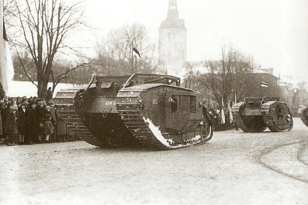 ბრიტანული ტანკები პირველ მსოფლიო ომში