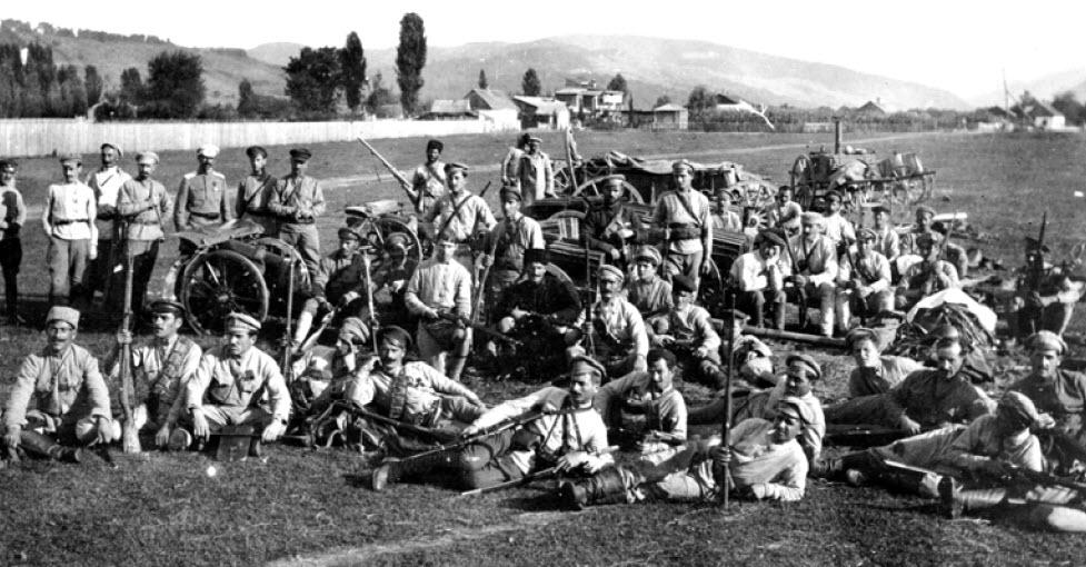 ქვედანაყოფები – შეიარაღებული ძალები 1918-1921