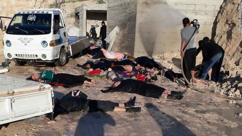 სირიაში ქიმიური იარაღი გამოიყენეს +18 უმძიმესი კადრები სირიიდან