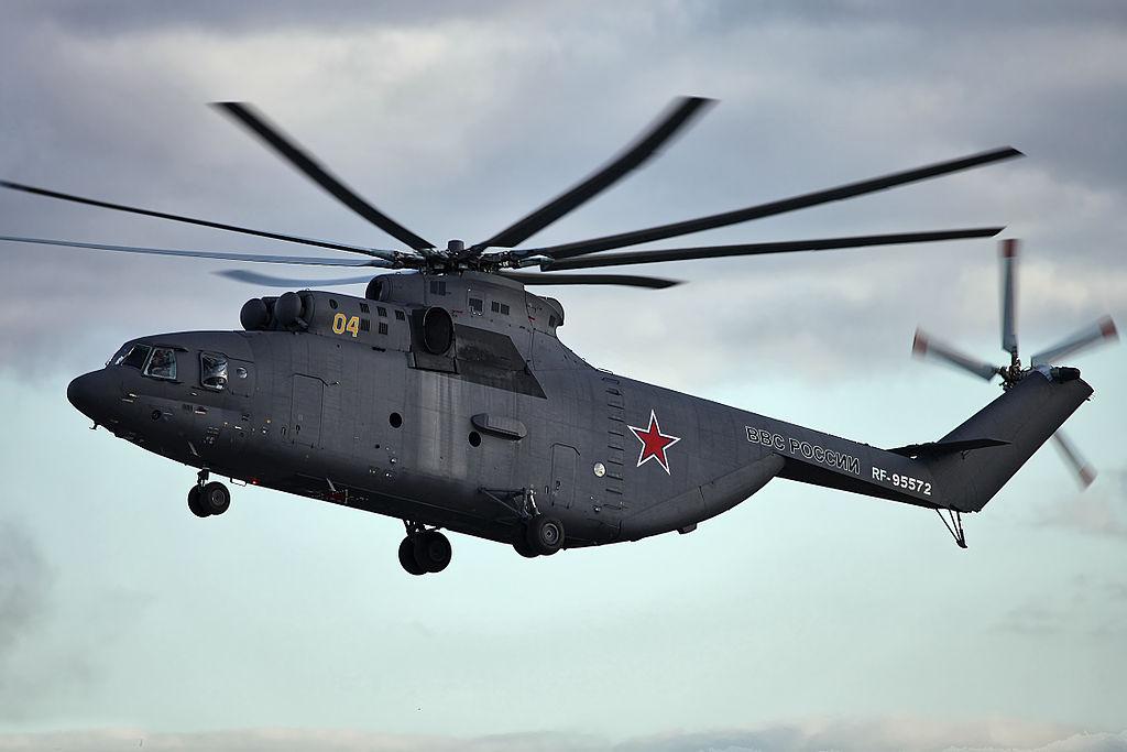რა წარმოადგენს მსოფილოში ყველაზე მძიმე რუსული  სატრანსპორტო შვეულფრენი МИ-26