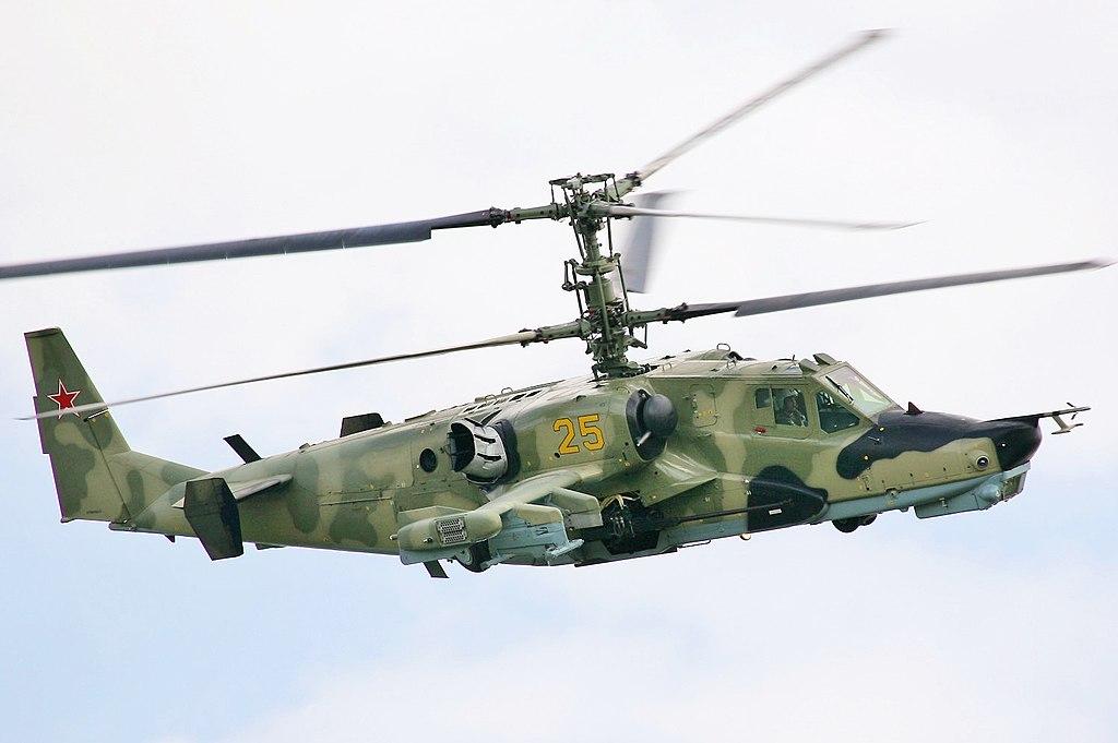რუსულ-ბელორუსულ ერთობლივ წვრთნებზე რუსულმა KA-52ტიპის საბრძოლო შვეულფრენმა C-8 უმართავი საავიაციო რაკეტები მაყურებლების მიმართულებით გაისროლა.