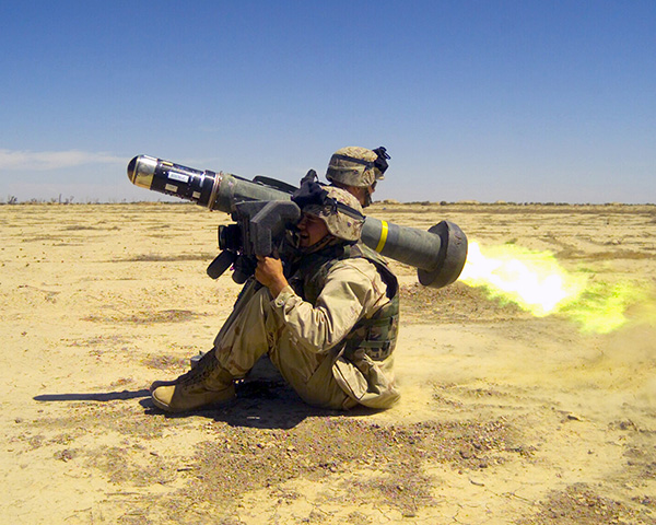 «Джавелин» американский противотанковый комплекс