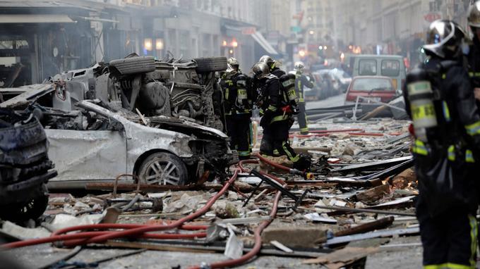 პარიზში მომხდარი აფეთქების შედეგად 4 ადამიანი დაიღუპა, 10 ადამიანის მდგომარეობა კრიტიკულია
