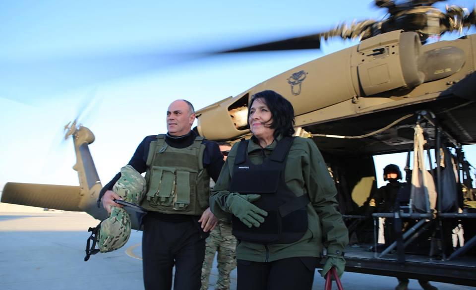 სალომე ზურაბიშვილმა ავღანეთში, ბაგრამისა და ქაბულის ბაზებზე ქართველი სამხედროები მოინახულა [ფოტო-ვიდეო]