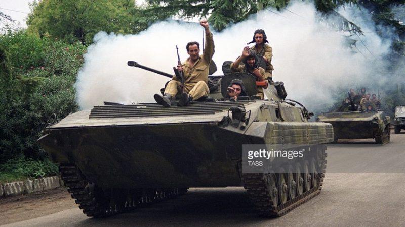 აფხაზეთის ომის უნიკალური ვიდეო კადრები.