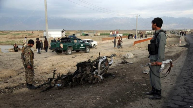 4 ამერიკელი დაიღუპა ბაგრამის აეროპორტთან მომხდარ აფეთქებაში