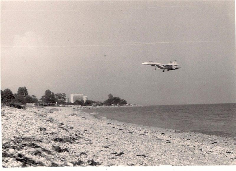 აფხაზეთში 1993 წლის 19 მარტს სოხუმთან ჩამოგდებული რუსეთის Cy-27 ტიპის გამანდგურებელი თვითფრინავის  დოკუმენტური ფოტო (ვიდეო) მასალა.