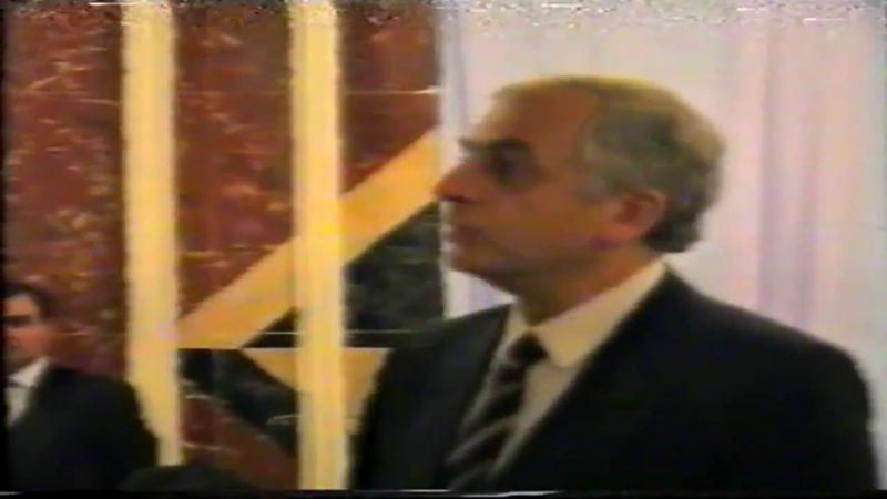 უნიკალური კადრები: ზვიად გამსახურდია, რუსლან აუშევი და ვლადიმერ ჟირინოვსკი გროზნოში, 1993 წელი.