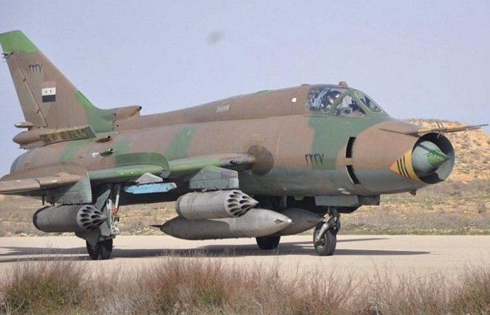 სირიაში პროვინცია იდლიბში , ამბოხებულებმა  სირიის საჰაერო ძალების Су-22М ტიპისგამანადგურებელ-ბომდამშენი  თვითმფრინავი ჩამოაგდეს.