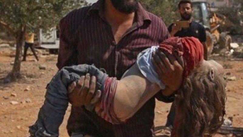 სირიაში იდლიბის პროვინციაში რუსეთისავიაციის საჰაერო იერიშის შედეგად დაიღუპა 13 და დაიჭრა 20 მშვიდობიანი მოქალაქე