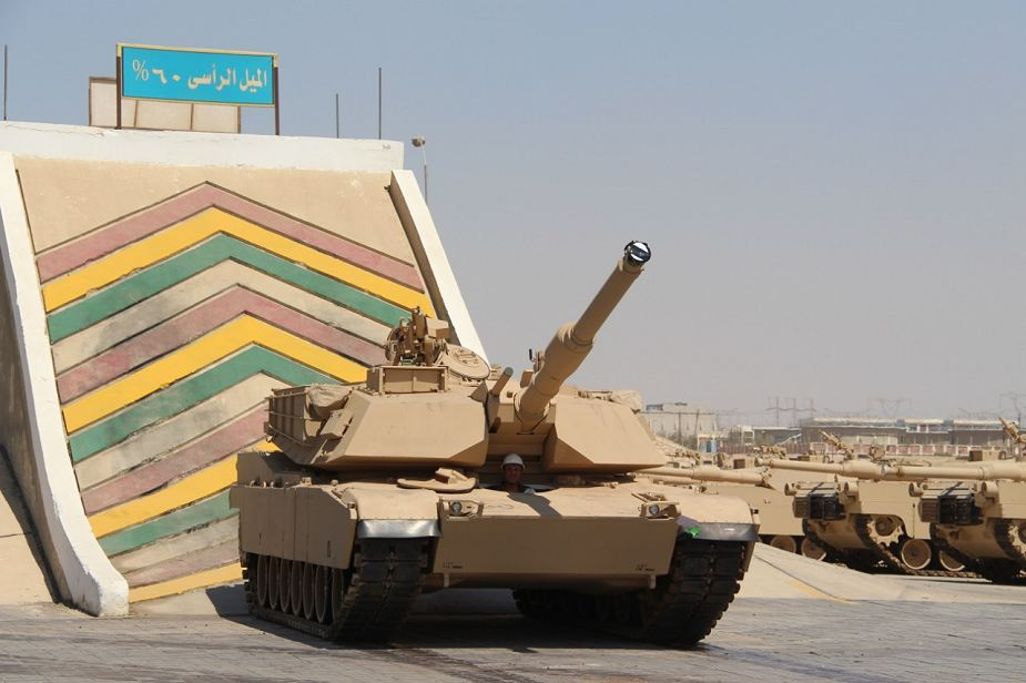 ეგვიპტე აგრძელებს ადგილობრივ M1A1 Abrams– ის ტანკების წარმოებას.