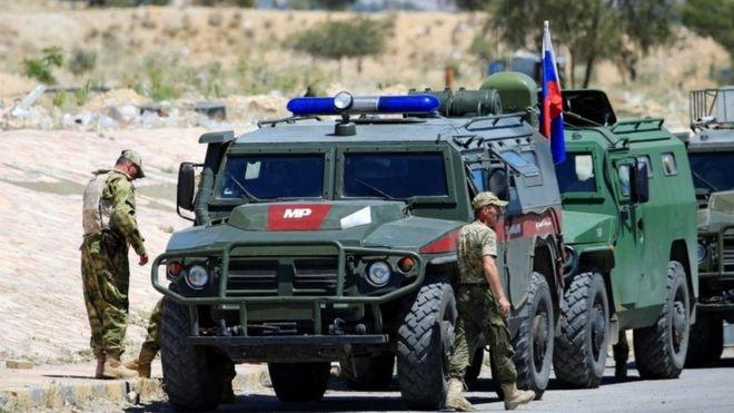 სირიაში დაიღუპა  სამი და დაიჭრა ორი რუსი სამხედრო