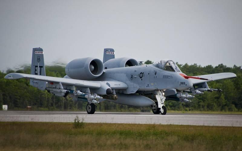 აშშ  A-10 Thunderbolt II ტიპის მოიერიშე თვითფრინავების გადაიარაღებას აპირებს.
