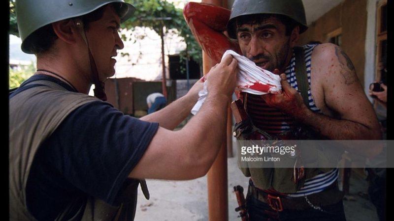 1993 წლის სეტემბერი, უმძიმესი ბრძოლები სოხუმში.(ბრძოლის ამსახველი ვიდეო მასალა)