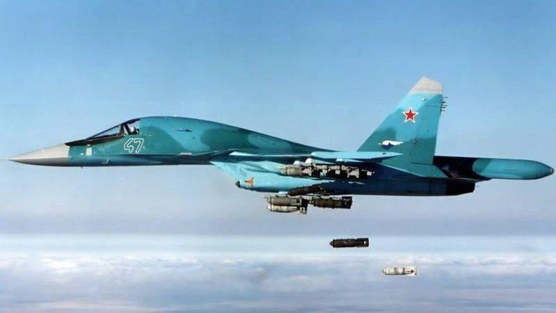 2019 წლის 19 ოქტომბერს,რუსეთის Су-34 გამანადგურებელ-ბომბდმშენმათვითფრინავმა  სირიაში მზის ელექტორ სადგური გაანადგურა (ვიდეო)