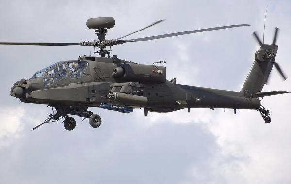 იემენელმა ჰუსიტებმა საუდის არბეთის AH 64 Apache ტიპის საბრძოლო შვეულფრენი ჩამოაგდეს