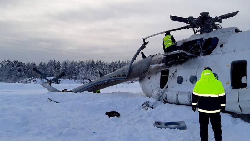 კრასნოიარსკის მხარეში Ми-8  შვეულფრენის  ავარიის შედეგად დაშავებულთა რიცხვი 16-მდე გაიზარდა