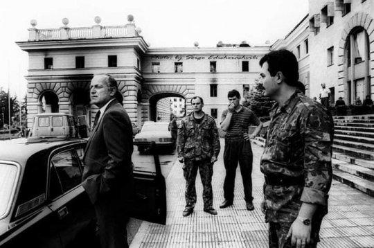 სოხუმის ბოლო მცველები 1993 წლის 24 სექტმბერი. (ვიდეო)