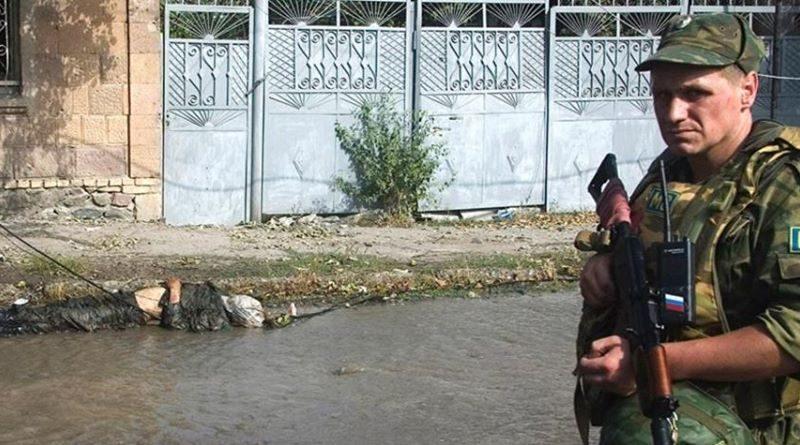 შეტაკება სამშვიდობო სტატუსის მქონე რუსულ ძალებსა და ქართულ ჯარს შორის