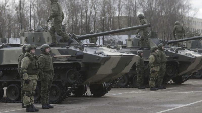 ფსკოვის  234-ე სადესანტო მოიერიშე  პოლკს ახალი  BMD-4M ები გადასცეს.