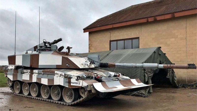 ბრიტანელებმა წარადგინეს ახალი მოდერნიზირებული ტანკი Challenger -2  Streetfighter II  ქალაქის პირობებში სამოქმედოდ.